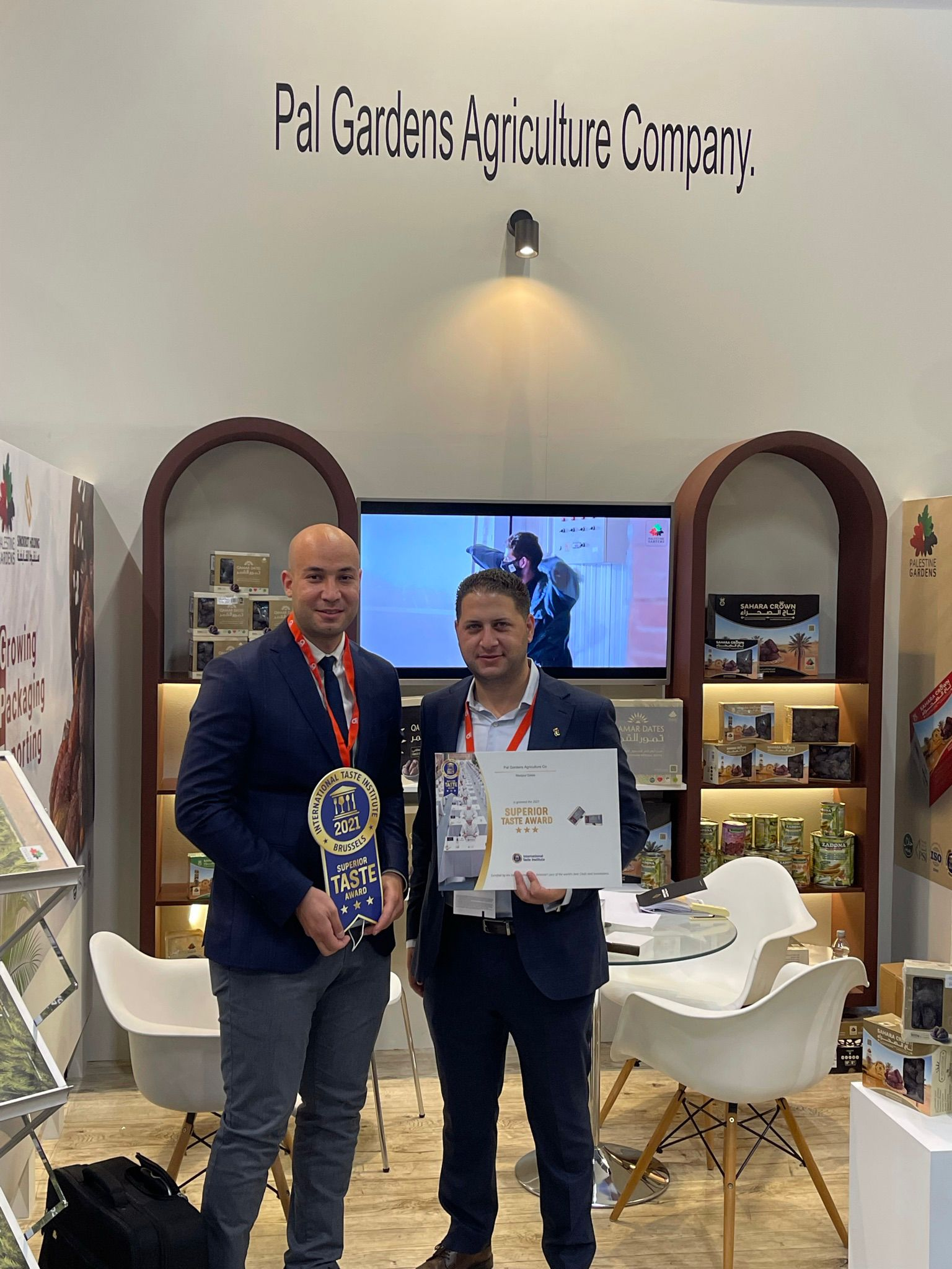 Palestine Gardens Agricultural Company participates in Anuga 2021- International Food Industry Trade Fair in Germany